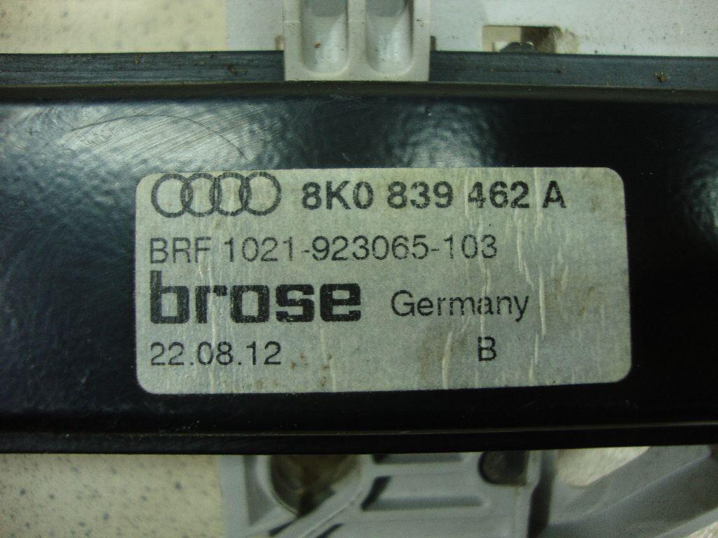 Стеклоподъемник электр. задний правый 8K0839462A
