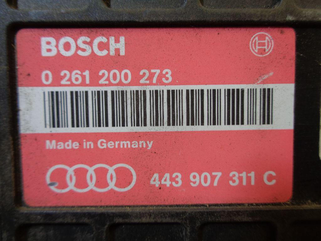 Блок управления двигателем 443907311C